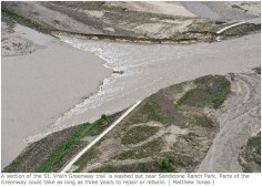 St. Vrain Greenway Trail washout September2013 via Longmont Times-Call