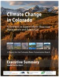 Climate Change in Colorado report for the CWCB from the Western Water Assessment and CIRES
