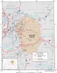 Denver Basin aquifer map