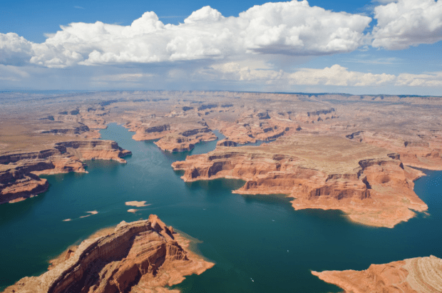 Lake Powell, shown here in 2008, serves multiple purposes. Photo/Andrew Pernick, U.S. Bureau of Reclamation -- via The Mountain Town News