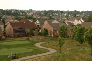 When planning suburban neighborhoods, for instance, a developer might buy land to set aside as habitat in exchange for encroaching on existing habitat. Image Credit: Roger Auch, USGS.
