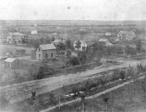 Greeley in 1870 via Denver Public Library http://photoswest.org/cgi-bin/imager?10009071+X-9071