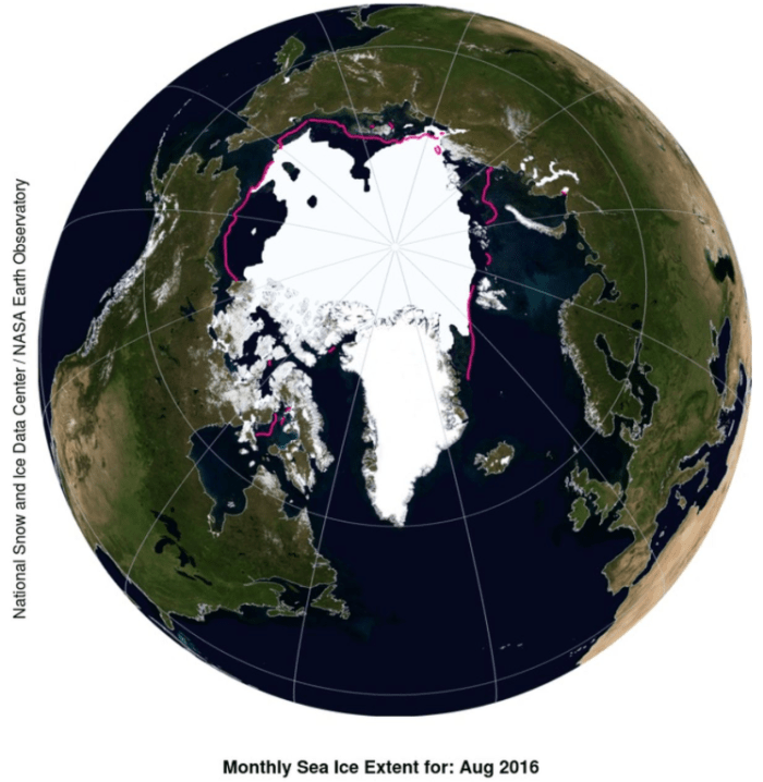 (National Snow and Ice Data Center / NASA Earth Observatory)