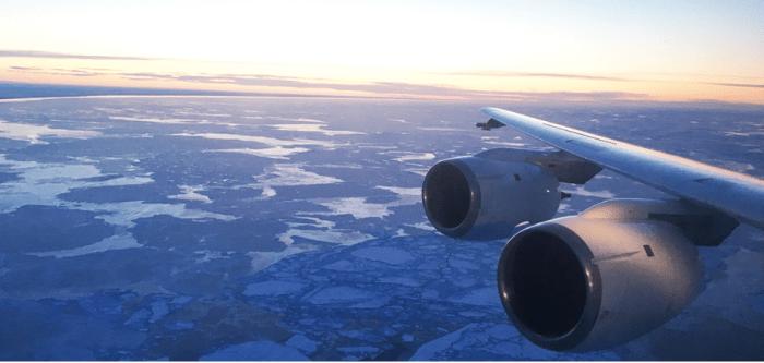 Unconsolidated sea ice January 39,, 2017 off Barrow, Alaska. Photo credit NOAA.