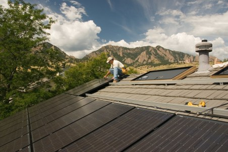 Boulder County Solar Contractor Residential Commerical. Photo credit: Flatiron Solar