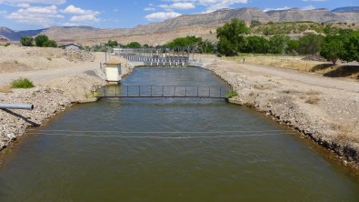 The Grand Valley Irrigation Canal, in Palisade, heading for Grand Junction. Photo: Brent Gardner-Smith/Aspen Journalism