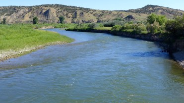 The White River, in the vicinity of the proposed Wolf Creek Reservoir. Photo by Brent Gardner-Smith/Aspen Journalism.