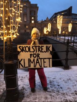 Greta Thunberg via Twitter