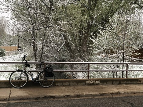 Farmers Highline Canal near the Tuck Ditch Headgate April 30, 2019. Day 30 of the #30daysofbiking challenge.