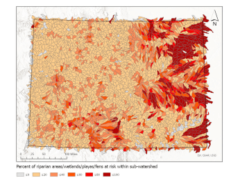 wetlands-map-riparian areas at risk water for colorado