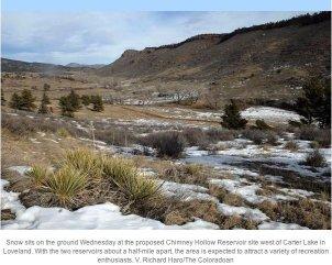 Chimney Hollow Reservoir site