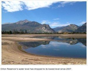 Low Dillon Reservoir 2012