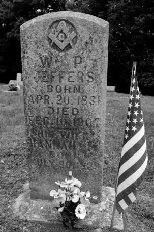 W.P. Jeffers' grave