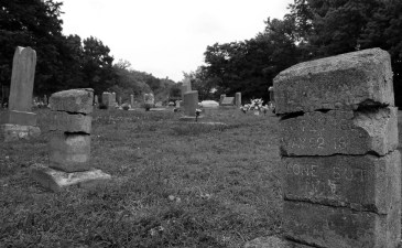 Cemetery in Pineville, Missouri