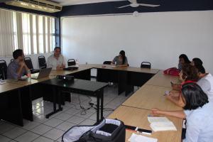 Reunión con el consejero de políticas públicas de Guerrero