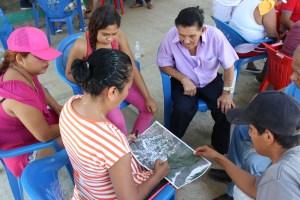 Rumbo a la resiliencia climática: primera sesión del taller de mapeo participativo El Bejuco
