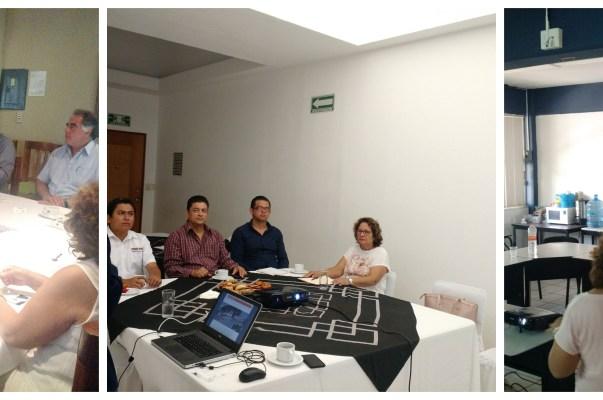 Reunión con los candidatos a presidencia de Coyuca