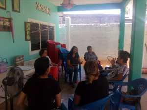 Reunión de seguimiento de las estrategias de resiliencia Climática en El Bejuco