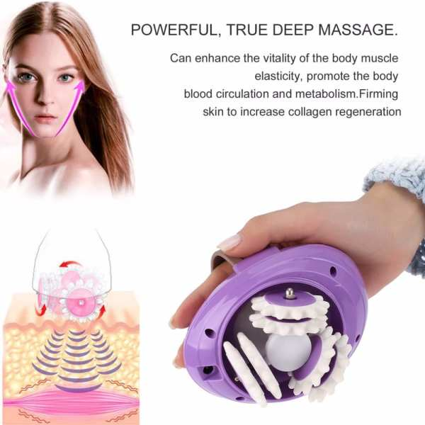 Health Care Electric 3D Full Body Massager Roller Powerful Anti Cellulite Body Slimming Burn Device Fat