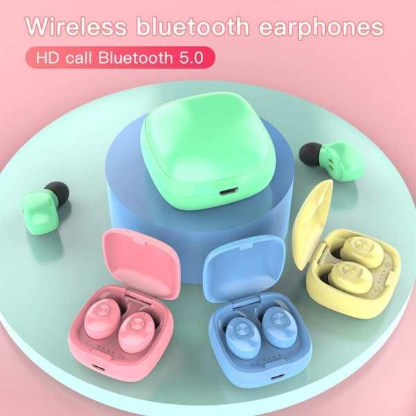 XG12 TWS Bluetooth 5 0 Earphones Wireless Waterproof Mini In ear HIFI Headset For Apple AirPods