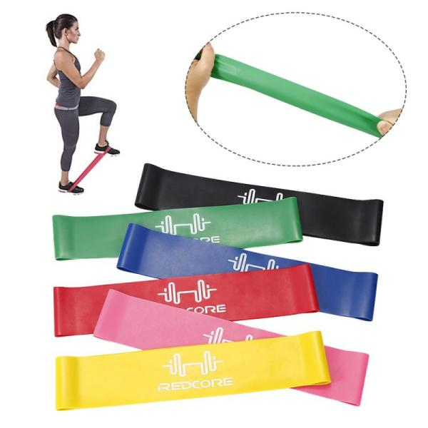 Colorful Yoga Gym Strength Training Athletic Rubber Bands Fitness Resistance Bands Rubber Band Workout Gym Equipment