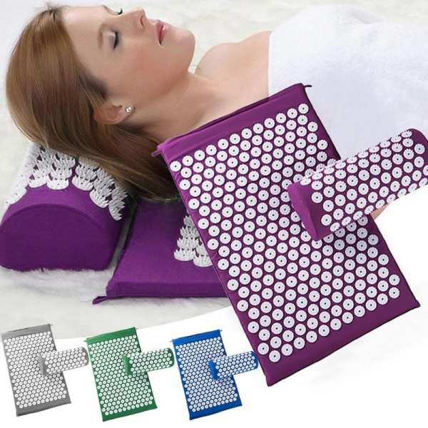 Massage Yoga Mats & Pillow Needle Massager