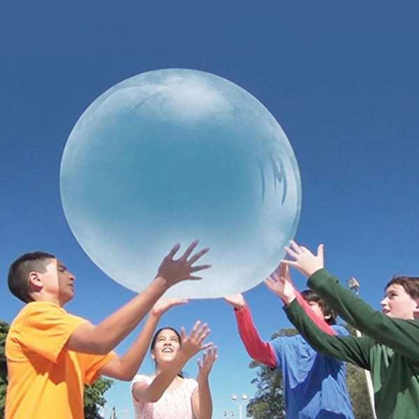 Large Size Children Outdoor Soft Squishies Air Water Filled Bubble Ball Blow Up Balloon Toy Fun
