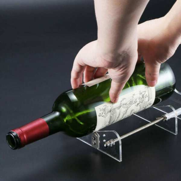 Beer Glass Wine Bottle Cutter Cutting Machine Jar Champagne Bottles DIY Kit Craft Recycle For Home