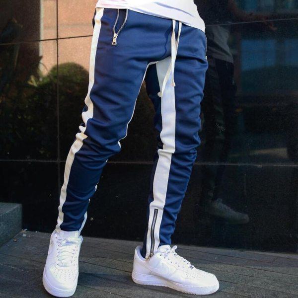 Mens Joggers Casual Pants Fitness Men Sportswear Tracksuit Bottoms Skinny Sweatpants Trousers Black Gyms Jogger Track