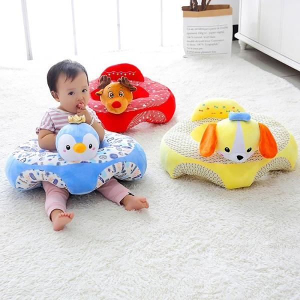 1pcs Kids Portable Baby Support Seat Cute Animal Children s Chair For Sitting Cushion Without Filling