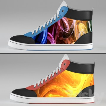 Digital Shiftwear Sneakers