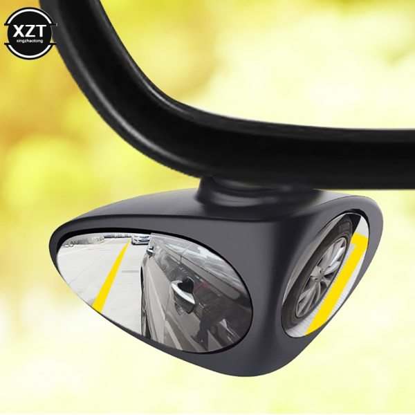 3R car front wheel blind zone mirror perspective mirror multifunctional rearview mirror small round mirror rearview