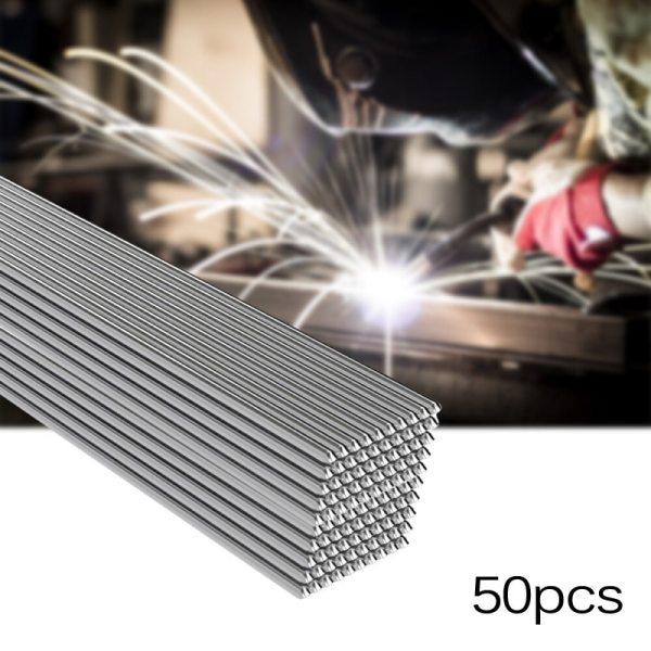 50x Solution Welding Flux Cored Rods Metalworking CNC 50cm Equipment Tool Set Aluminum Welding Rods 1