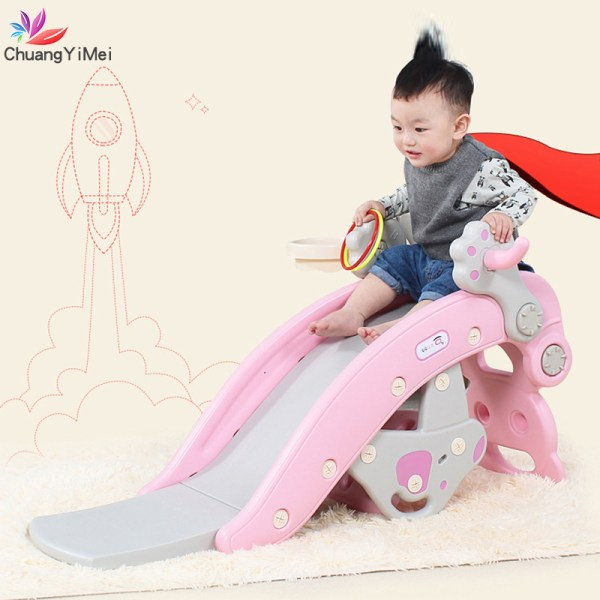 Baby Rocking Horse for Kids Slides 2 in 1 Children s Slides Ride Horse Toy Multifunction
