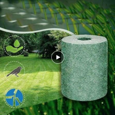 Biodegradable Grass Seed Mat Seed Starter Mat 3M 0 2M Grass Seed Carpet Seed Starter Mat