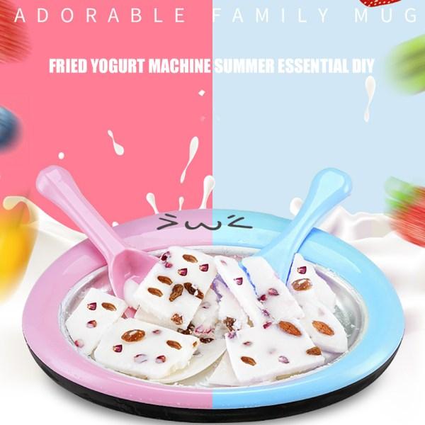 Cartoon Mini Ice Cream Roller Rolling Machine Ice Cream Maker Fried Yogurt Machine Summer Cool Ice