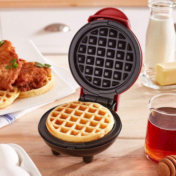 Mini Electric Waffles Maker Bubble Egg Cake Oven Breakfast Waffle Machine Fried Egg Pancake Pan Eggette