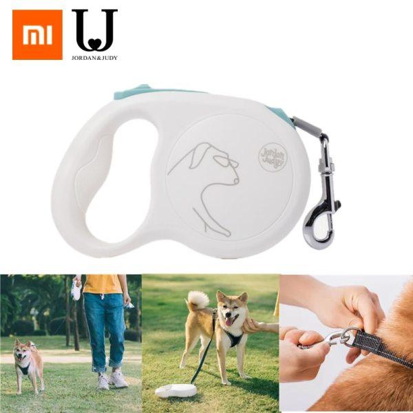 Xiaomi Jordan Judy Retractable Dog Leash 16ft Dog Traction Rope Pet Retractable Traction Rope Break Lock