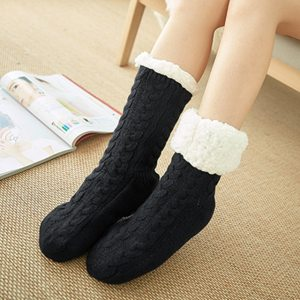 Glglgege twist stripes Winter Women Socks Women Non slip Adult Floor Socks Indoor Warm Shoes Soft 26.jpg 640x640 26