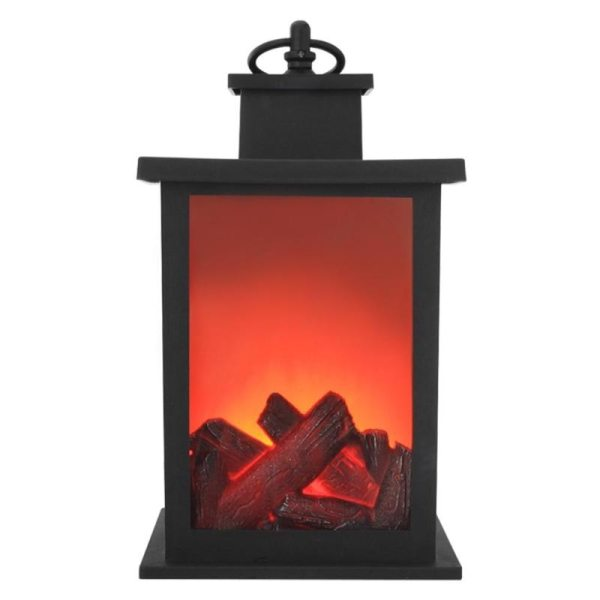 LED Flame Lantern Lamps Simulated Fireplace LED Flame Lamps Flame Effect Light Bulb AA Battery Courtyard
