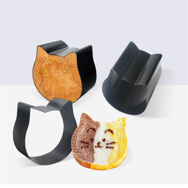 Cat Shaped Toast Box Non Stick Bread Cat Head Cat Shaped Toast Box Cute Bread Cat