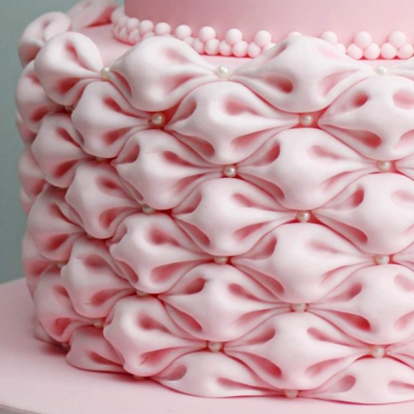 Easy Fabric Puff Silicone Mold Creative Cake System for Cake Decorating Tool Fondant Cupcakes Topper Sugarcraft