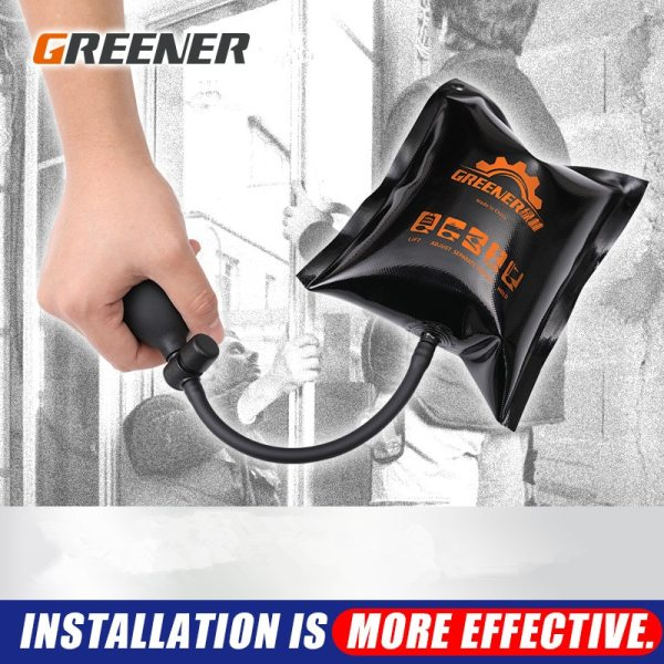 GREENER Air Pump Wedge Door Window Installation Positioning Building Tools for Construction Auto Cushion Airbag Adjustable