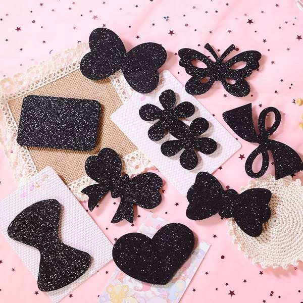 Girls Bangs Magic Paste Posts Hair Sticker Clip Fringe Hair Bang Patch Highly Stick For Women