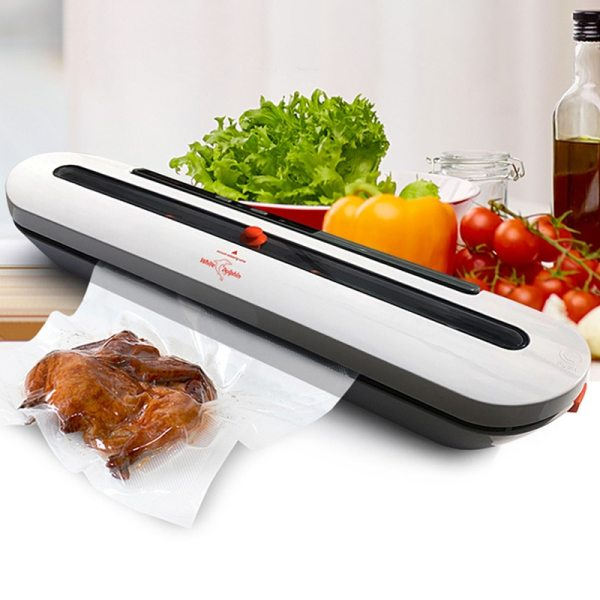 Household Food Vacuum Sealer Packaging Machine With 10pcs Bags Free 220V 110V Automatic Commercial Best Vacuum