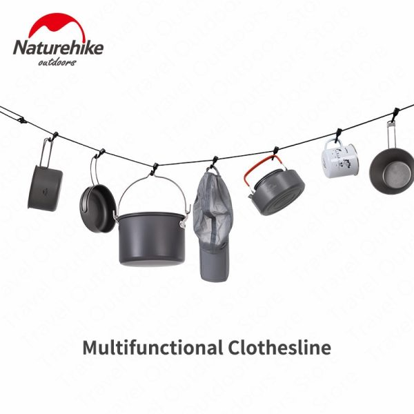 Naturehike Outdoor 4 3M Anti skid Rope Hanging Rope Multipurpose Camping Accessories Clothes line Awning Hanging