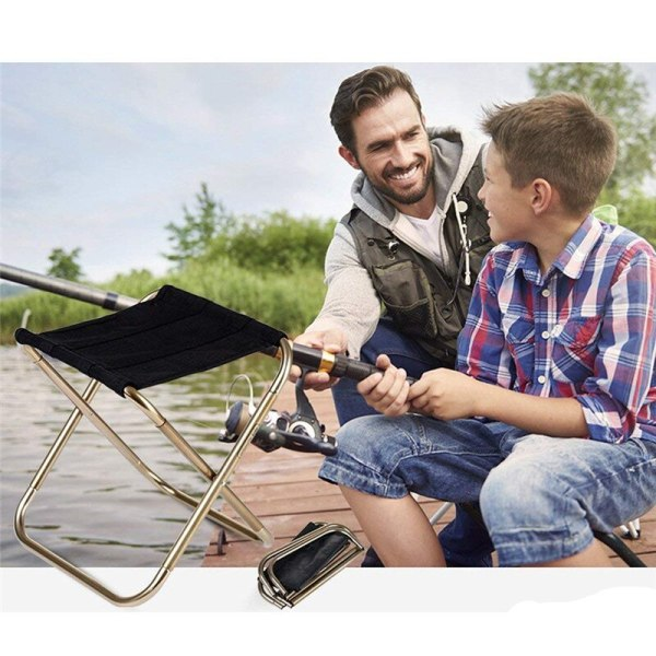 Outdoor Folding Chair Lightweight Camping Chair Foldable Picnic Stool For Fishing Chairs Easy To Carry with