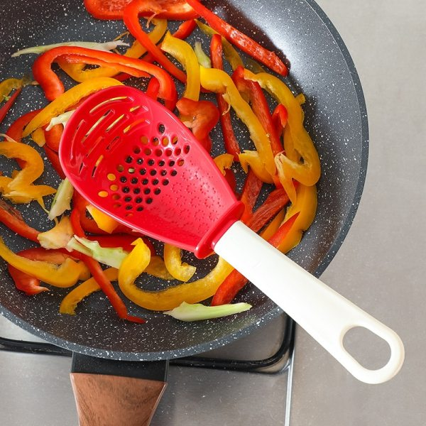 Silicone Gadgets Kitchen Tools Fried Shovel Spatula Egg Fish Frying Pan Scoop Cooking Utensils Grinding Kitchenware