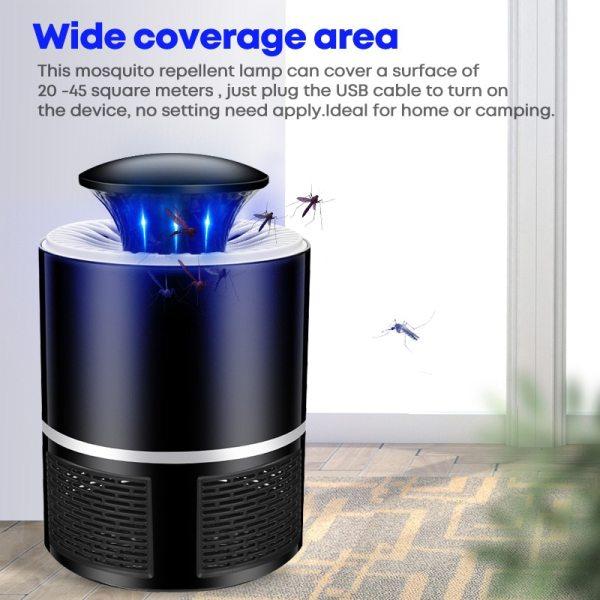 USB LED Mosquito Killer Lamp Mosquito killer electric mosquito killer Photocatalysis mute Radiationless Flies Trap Lamp