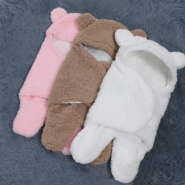 0 6 Months Autumn Baby Sleeping Bag Envelope For Newborn Baby Winter Swaddle Blanket Wrap Cute